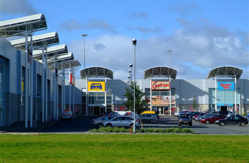 Drogheda retail and-leisure park units