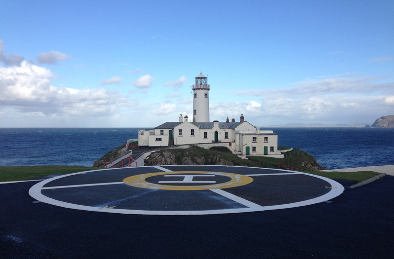 Fanad Head Lighthouse Helipad
